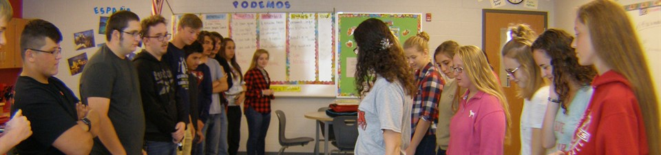 Learning to dance in Spanish.  Photo credit:  Jenna