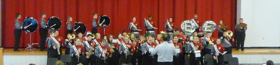 Marching Band.......... Photo Credit:  Mrs. Hafer