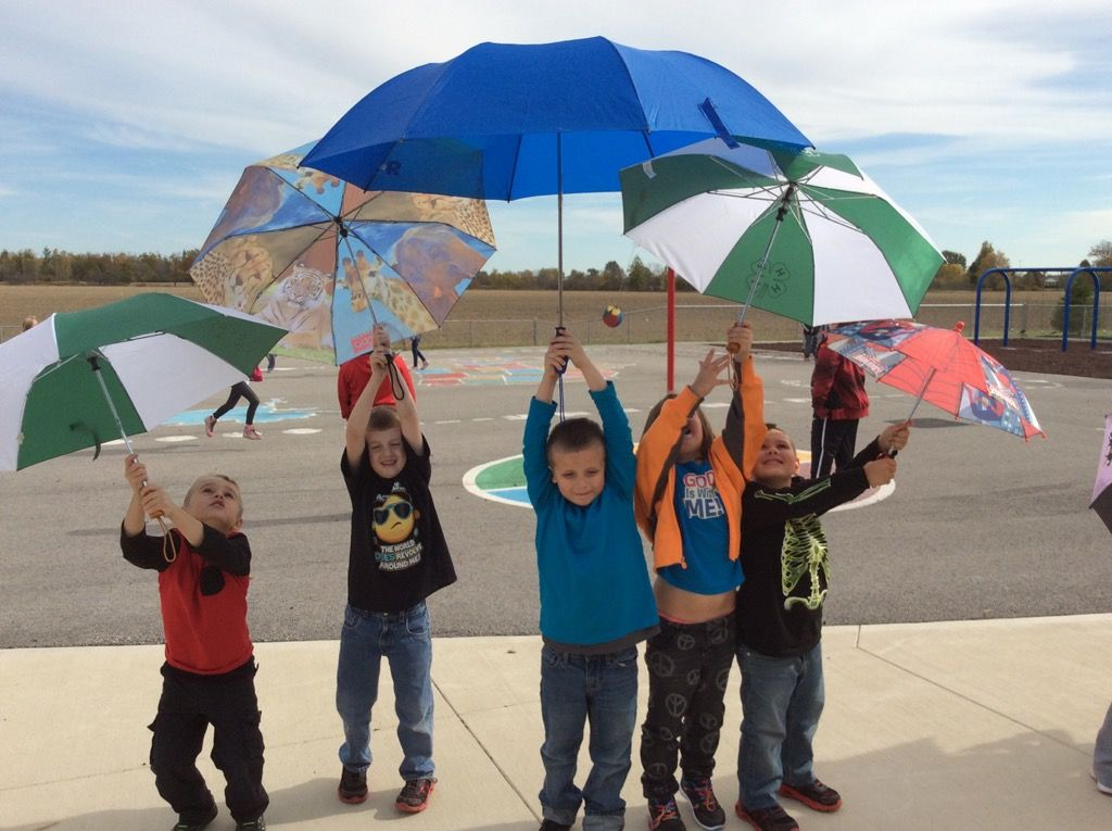 Kindergarten Umbrella Day