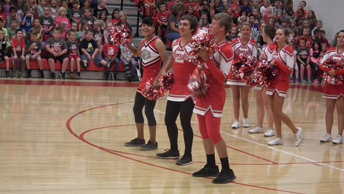 EHS Cheerleaders